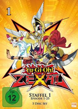 Yu-Gi-Oh! Zexal - Staffel 1.1 [5 Discs]