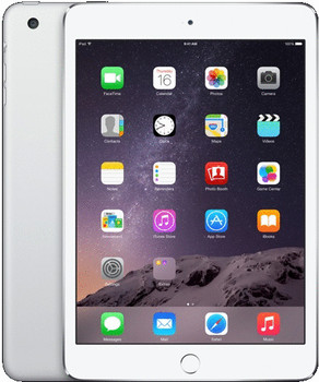 "Apple iPad mini 3 7,9"" 128GB [wifi + cellular] zilver"