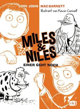 Miles & Niles - Einer geht noch - Mac Barnett  [Gebundene Ausgabe]