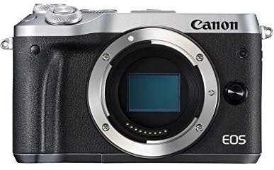 Canon EOS M6 body argent
