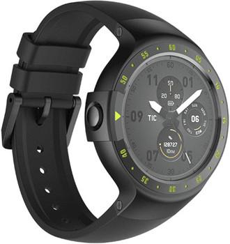 Mobvoi Ticwatch S 45mm nero con cinturino in silicone [Wifi]