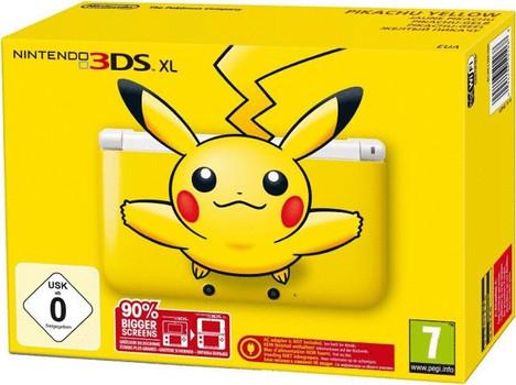 Nintendo 3DS XL Pikachu geel [incl. 4GB geheugenkaart]