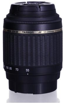 Tamron AF 55-200 mm F4.0-5.6 Di LD II Macro 52 mm Objectif  (adapté à  Nikon F) noir