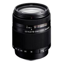 Sony 18-250 mm F3.5-6.3 DT 62 mm Objetivo (Montura Sony A-mount) negro