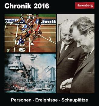 Chronik 2016: Personen, Ereignisse, Schauplätze - Pollmann, Bernhard
