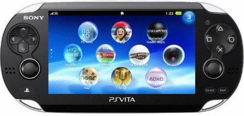 Sony PlayStation Vita [Wi-Fi incl. carte mémoire de 8 Go]