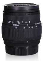 Sigma 18-50 mm F3.5-5.6 DC 58 mm filter (geschikt voor Nikon F) zwart