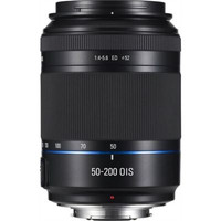 Samsung NX 50-200 mm F4.0-5.6 ED i-Function OIS II 52 mm Objetivo (Montura Samsung NX) negro