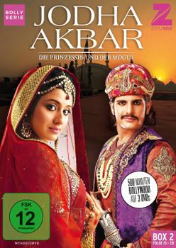 Jodha Akbar - Die Prinzessin und der Mogul [Box 2, Folge 15-28] [3 DVDs]