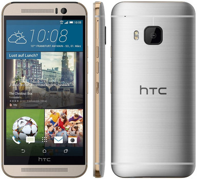 HTC One M9 32GB goud op zilver
