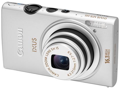 Canon IXUS 125 HS argento