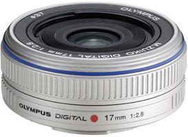 Olympus 17 mm F2.8 37 mm Objectif (adapté à Micro Four Thirds) blanc