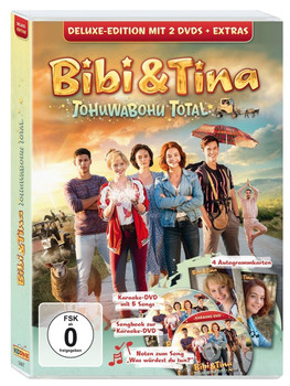 Bibi & Tina - Tohuwabohu Total [Deluxe Edition inkl. Karaoke-DVD, Songbook, Noten, 4 Autogrammkarten]