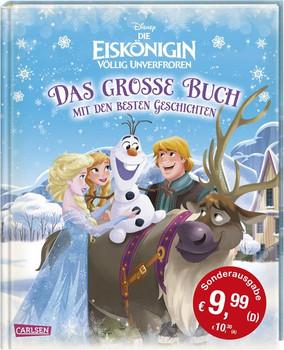Disney Sonderausgabe Eiskönigin - völlig unverfroren / Das große Buch mit den besten Geschichten - Walt Disney  [Gebundene Ausgabe]