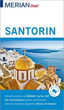 MERIAN live! Reiseführer Santorin. Mit Extra-Karte zum Herausnehmen - Lasse Dudde  [Gebundene Ausgabe]