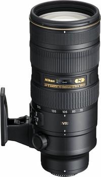 Nikon AF-S NIKKOR 70-200 mm F2.8 ED G VR II 77 mm Objectif (adapté à Nikon F) noir