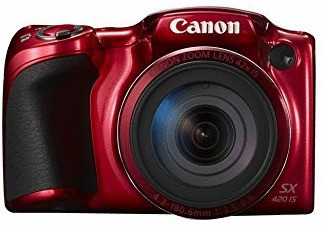 Canon PowerShot SX420 IS rojo