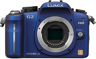 Panasonic Lumix DMC-G2 body blauw