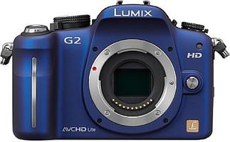 Panasonic Lumix DMC-G2 Cuerpo azul