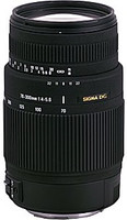 Sigma 70-300 mm F4.0-5.6 DG OS 62 mm Objectif (adapté à Sigma SA) noir