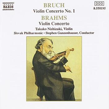 Takako Nishizaki - Bruch/Brahms: Violin Concerto