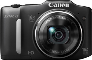 Canon PowerShot SX160 IS negro