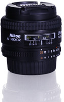 Nikon AF NIKKOR 28 mm F2.8 D 52 mm Objectif (adapté à Nikon F) noir