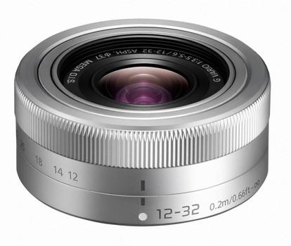 Panasonic Lumix G VARIO 12-32 mm F3.5-5.6 ASPH. O.I.S. 37 mm filter (geschikt voor Micro Four Thirds) zilver