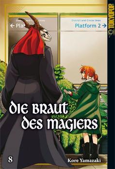 Die Braut des Magiers 08 - Kore Yamazaki  [Taschenbuch]