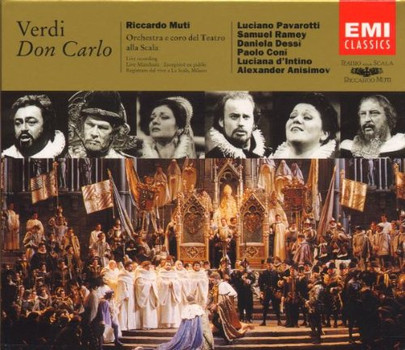 Dessi - Verdi: Don Carlos (Gesamtaufnahme) (Mailand 1993)
