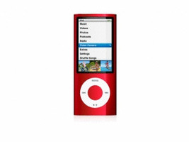 Apple iPod nano 5G 16GB met camera rood [(PRODUCT) RED Special Edition]