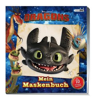Dragons: Mein Maskenbuch. Mit 10 Drachenmasken [Taschenbuch]