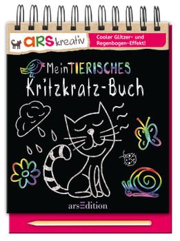 Mein tierisches Kritzkratz-Buch - kein Autor