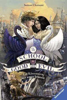 The School for Good and Evil, Band 4: Ein Königreich auf einen Streich - Soman Chainani  [Gebundene Ausgabe]