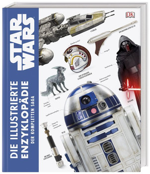 Star Wars™ Die illustrierte Enzyklopädie der kompletten Saga - Pablo Hidalgo  [Gebundene Ausgabe]