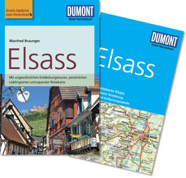 DuMont Reise-Taschenbuch Reiseführer Elsass: mit Online Updates als Gratis-Download - Braunger, Manfred