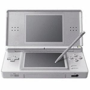 Nintendo DS lite plata