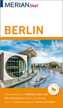 MERIAN live! Reiseführer Berlin. Mit Extra-Karte zum Herausnehmen - Gisela Buddée  [Gebundene Ausgabe]