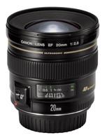Canon EF 20 mm F2.8 USM 72 mm Objectif (adapté à Canon EF) noir