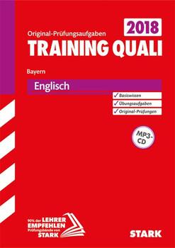 Training Quali Bayern - Englisch A4, mit MP3-CD [Taschenbuch]