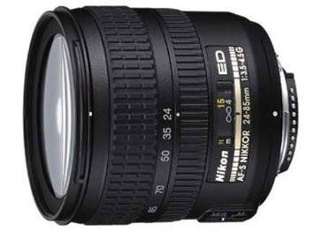 Nikon AF-S NIKKOR 24-85 mm F 3.5-4.5 ED G 67 mm Objectif (adapté à Nikon F) noir