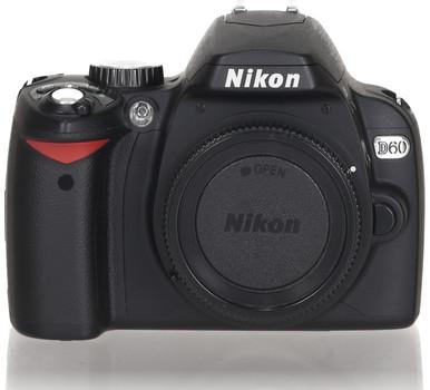Nikon D60 noir