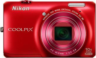 Nikon COOLPIX S6300 rojo