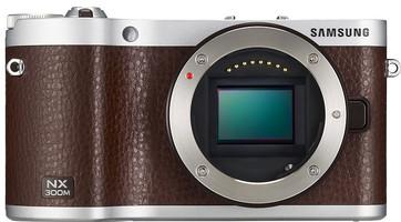 Samsung NX300M Cuerpo marrón