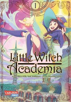 Little Witch Academia 1 - Keisuke Sato  [Taschenbuch]