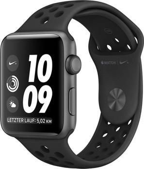 Apple Watch Nike+ Series 2 42mm Caja de aluminio en gris espacial con correa Nike Sport negro antracita [Wifi]