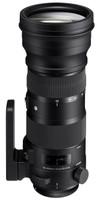 Sigma S 150-600 mm F5.0-6.6 DG HSM OS 105 mm Objetivo (Montura Nikon F) negro