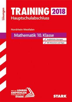 Lösungen zu Training Hauptschulabschluss - Mathematik 10. Klasse - NRW [Taschenbuch]