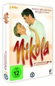 Nikola - Die Episoden 58-70 [3 Discs]