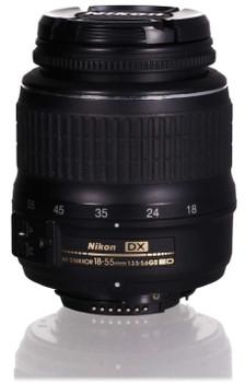 Nikon AF-S DX NIKKOR 18-55mm F3.5-5.6 ED G II 52 mm Objetivo (Montura Nikon F) negro